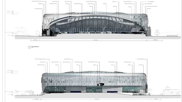 The modernisation of Spurs' north London home will cost £400m