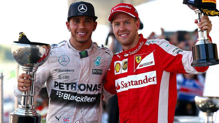 Vettel finished third behind Rosberg and a jubilant Hamilton