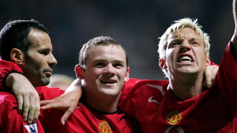 Wayne Rooney scored 11 Premier League goals in his first season with United