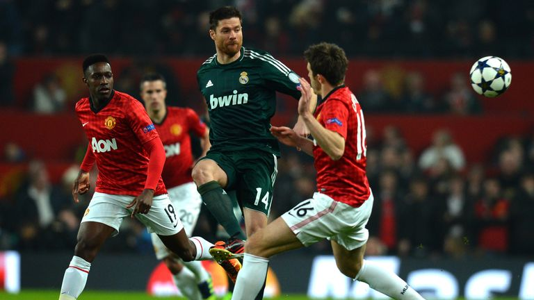 Xabi Alonso feels Manchester United's Michael Carrick should play more for England