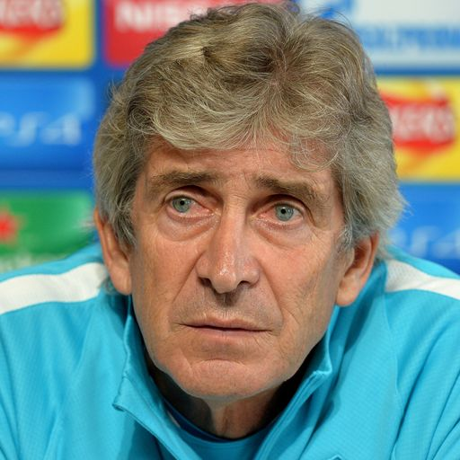 Pellegrini calm on Guardiola