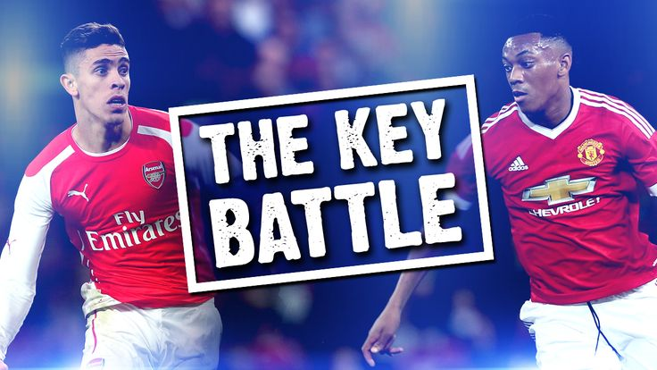 The Key Battle - Gabriel and Martial will go head-to-head on Super Sunday