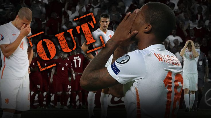 Netherlands have failed to qualify for Euro 2016 after a disastrous qualifying campaign