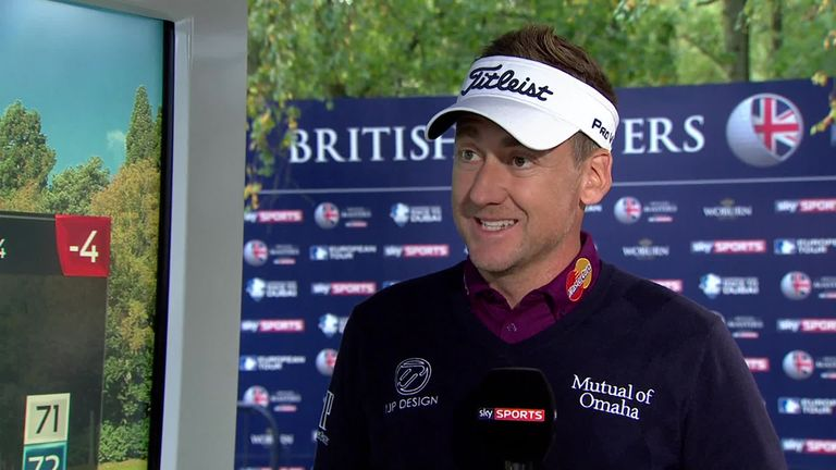 Poulter hopes to end a good year with a victory