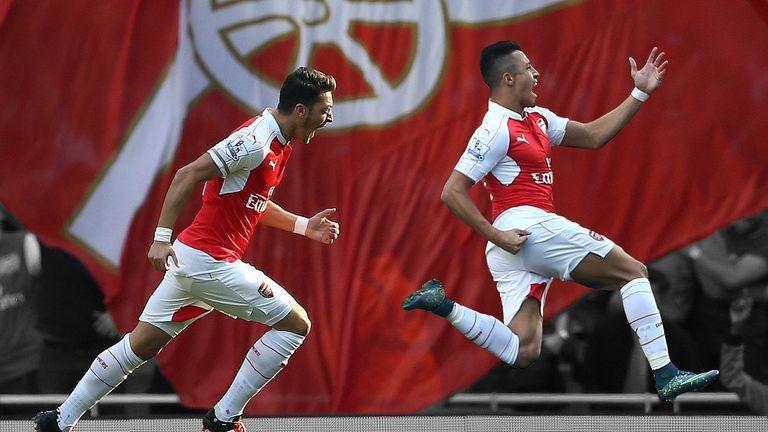 Mesut Ozil and Alexis Sanchez shone in Arsenal's 3-0 win over Manchester United