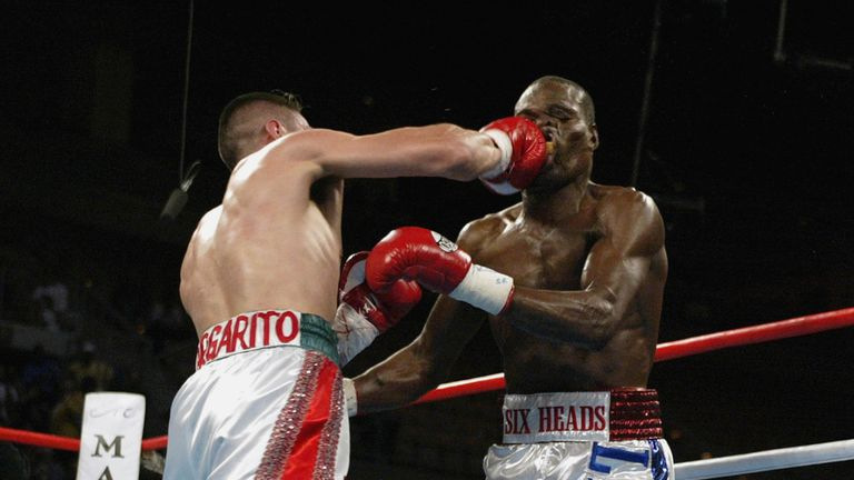Andrew Lewis was called Six Heads but only had one, that Antonio Margarito's right had little trouble finding