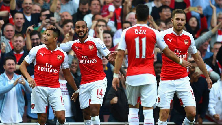 Alexis Sanchez was impressive against Manchester United earlier in the season.