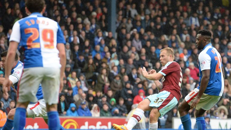 Burnley will take on rivals Blackburn at Ewood Park