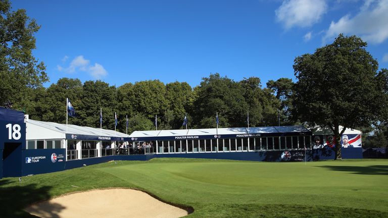 Slick, sloping greens and white sanded bunkers were another stand-out feature