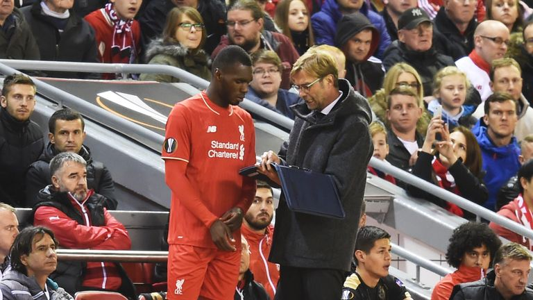 Christian Benteke has been plagued by injuries since he joined Liverpool from Aston Villa