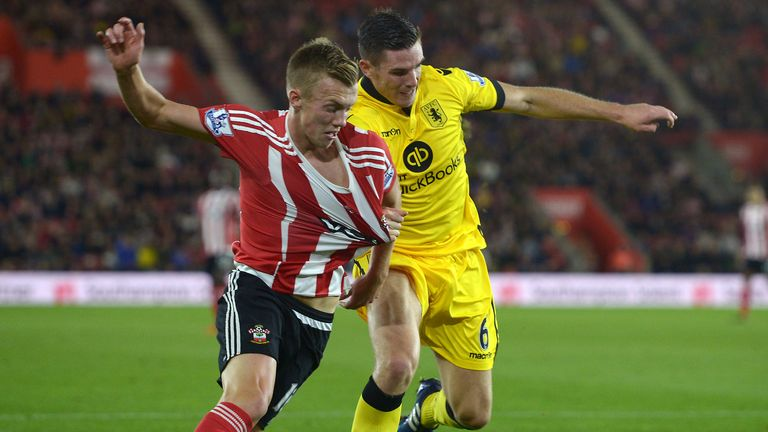 James Ward-Prowse is one of nine youth graduates in the Southampton squad to have played in the Premier League