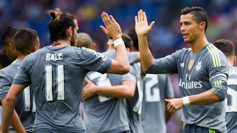 Benitez dismissed claims of a rift between Ronaldo and Bale