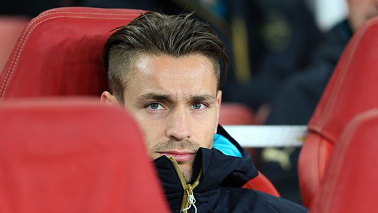 Mathieu Debuchy has made only one Premier League start this term