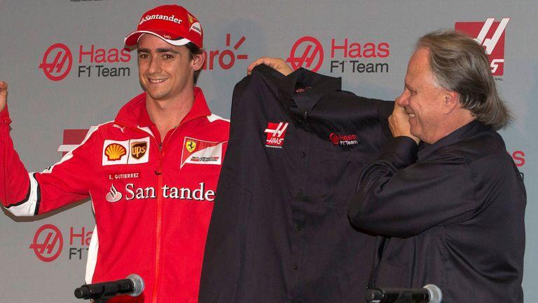 Esteban Gutierrez Will Race Alongside Romain Grosjean At The First American F1 Team In 30 Years