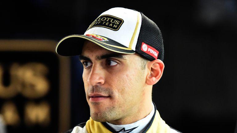 Pastor Maldonado has lost his Renault seat