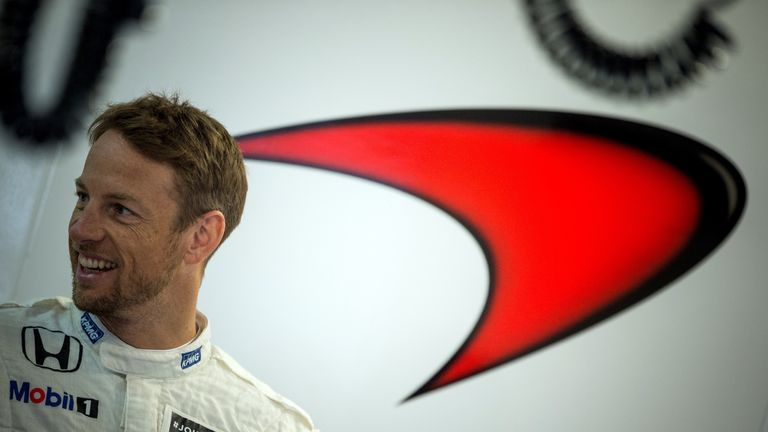 Button finished sixth in Austin last weekend