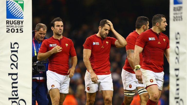 France were ejected from the World Cup after a brilliant attacking display from New Zealand