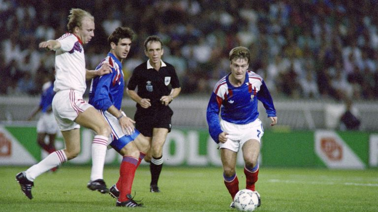 Eric Cantona and Didier Deschamps helped France win all their Euro '92 qualifiers
