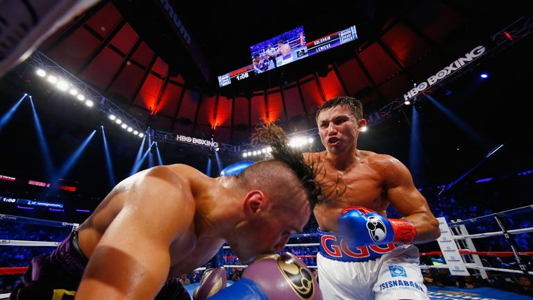 Golovkin had too much power for Lemieux to handle