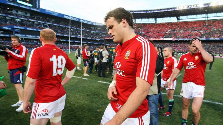 Roberts had suffered an agonising tour loss in a Lions shirt in 2009 in South Africa