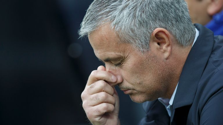 Mourinho is enduring the most difficult spell of his managerial career
