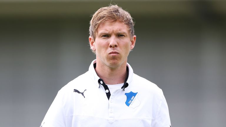 Nagelsmann was due to take over as Hoffenheim boss in the summer