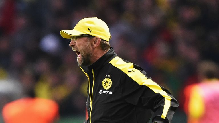 Jurgen Klopp won two Bundesliga titles with Borussia Dortmund