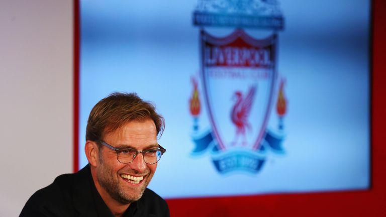 Jurgen Klopp took over as Liverpool boss in October
