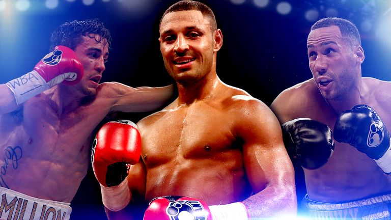 Anthony Crolla, Kell Brook and James DeGale will face world title fights on Sky Sports