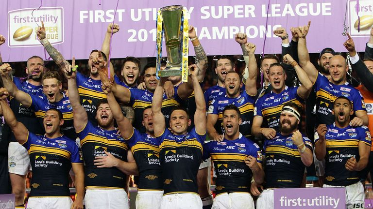 Leeds Rhinos were victorious in Super League's 20th season