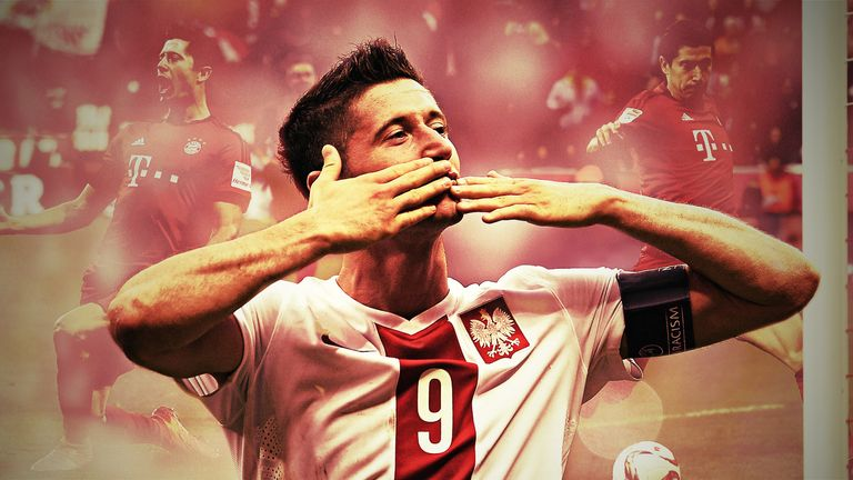 Robert Lewandowski is in remarkable form for club and country this season