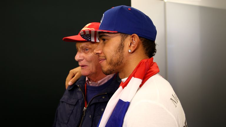 Hamilton is aware that ex-drivers such as Niki Lauda, one of his Mercedes bosses, established business ventures when they quit F1