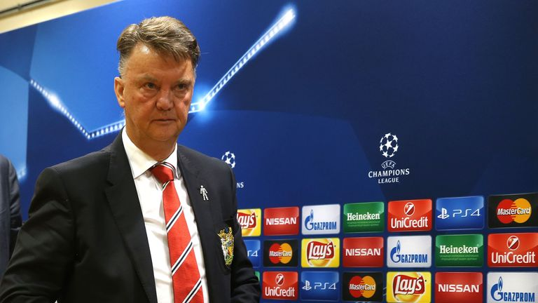 Louis van Gaal's side are facing an arduous trip to and from Moscow
