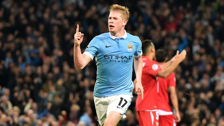 Kevin De Bruyne has impressed for Manchester City