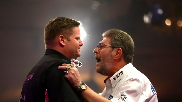 Martin Adams pushed Scott Mitchell all the way in last year's Lakeside final