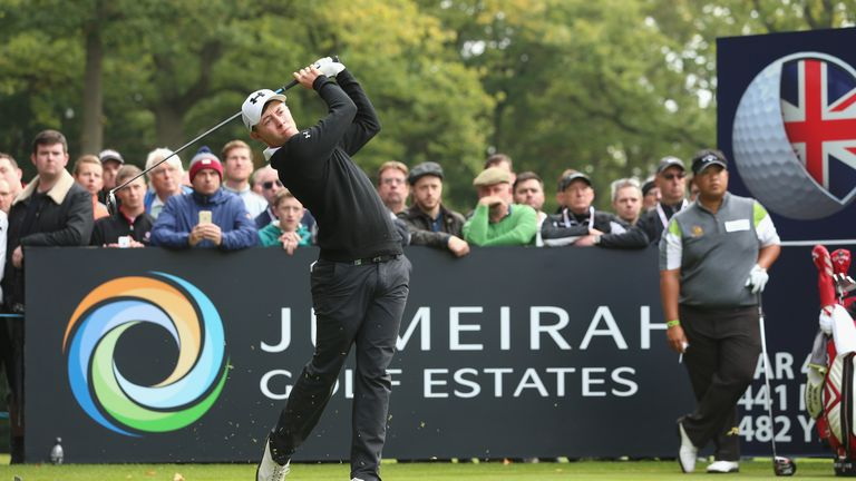Fitzpatrick was the youngest player in the field at Woburn
