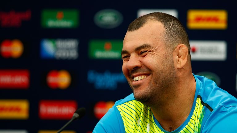 Michael Cheika knows the scrum will be a key area for Australia against England.