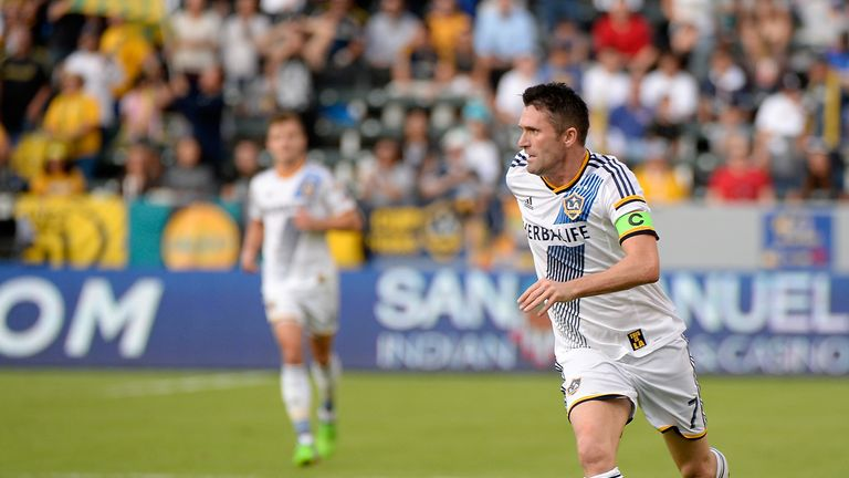 Keane has been named to MLS team of the year for the fourth year running