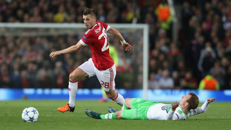 Morgan Schneiderlin is delighted with the performances produced by Man Utd