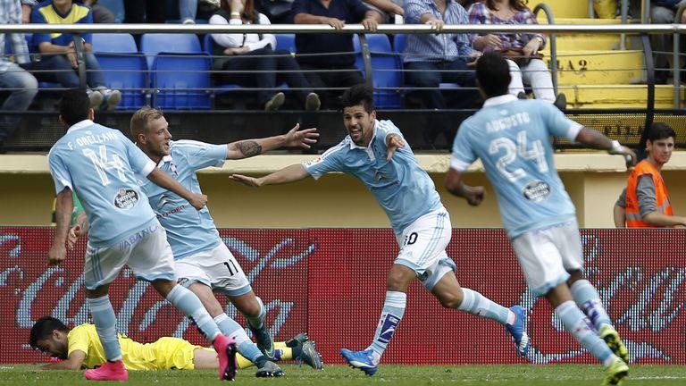 Celta Vigo's forward Nolito is subject of Premier League transfer rumours