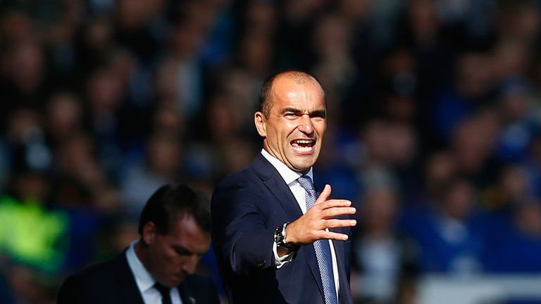 Roberto Martinez says he won't look to do business in the January transfer window