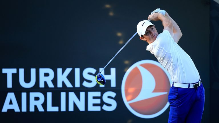 McIlroy finished tied for sixth at the Turkish Airlines Open last week
