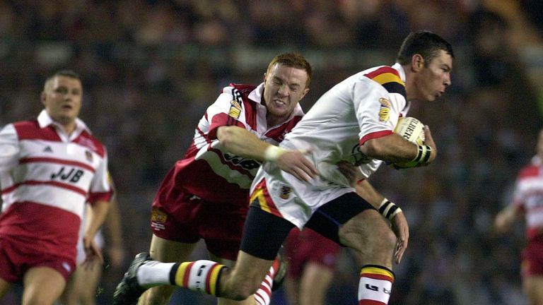 Wigan could not handle Withers, who played like a man still reeling from the knock-on decision against him in the 1999 final