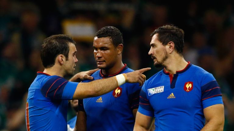 Parra's (left) last appearance for France was in the 62-13 crushing by New Zealand in the 2015 World Cup quarter-finals
