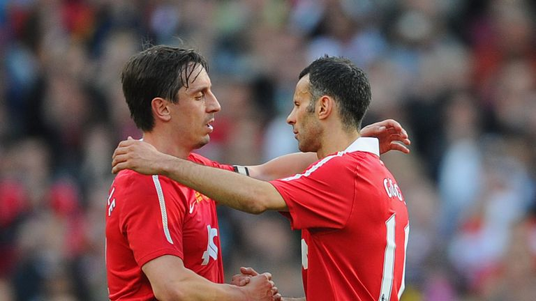 Gary Neville was the grumpiest of the bunch, says his former teammate Ryan Giggs