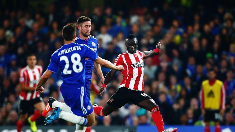 Southampton's Sadio Mane tormented Chelsea at Stamford Bridge