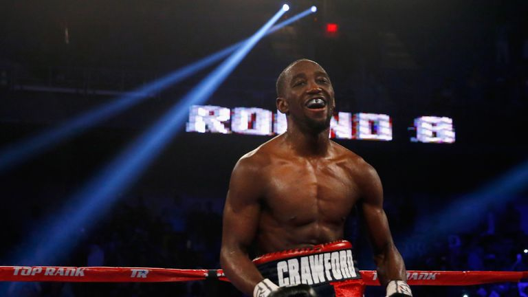 Terence Crawford stopped Dierry Jean earlier this month to retain his title with his 27th straight win