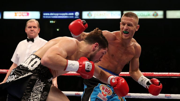 Terry Flanagan pounded Diego Magdaleno in Manchester