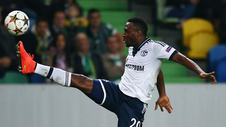Chinedu Obasi was released by Schalke in the summer
