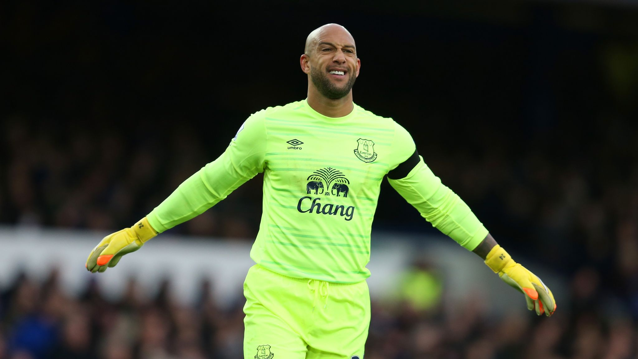 new york 66170 953a0 Everton goalkeeper Tim Howard agrees move to Colorado Rapids ...